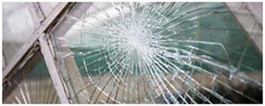 Ely Smashed Glass
